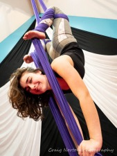 Adult level 2 Aerial Fabric and Trapeze