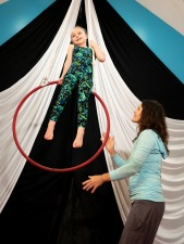 Youth Intro to fabric and trapeze