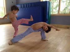 Kids Capoeira 4 to 7 years old
