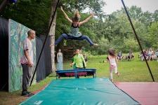 Outdoor Homeschool Circus